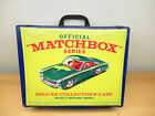 MATCHBOX LESNEY 1968 72 CAR COLLECTORS DELUXE CASE GREAT CONDITION
