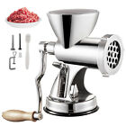 Manual Meat Grinder Hand Meat Grinder with Suction Cup Base Meat Grinder Manual