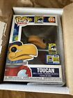 SDCC Comic-Con 2020 Funko POP! Red Astronaut Toucan (Exclusive) #103 1000 made