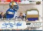 2020 Upper Deck CFL GJA-SB Stanley Bryant UD Game Patch Autographed Parallel