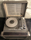 Vintage Newcomb Solid State 4 Speed Phonograph Record Player Model RT 15 Works