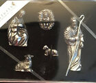 DANFORTH Holy Family Pewter Nativity Set Handcrafted Gift Boxed Signed