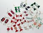 Beautiful glass candy Christmas ornaments 32 pieces