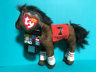 Ty Beanie Baby Street Sense  w/ Kentucky Derby Store Exclusive Horse Tag VISA