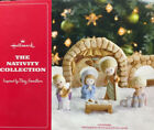 2012 Hallmark Porcelain Christmas The Nativity Collection by Mary Hamilton Set