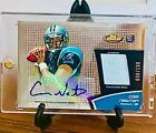 2011 Topps Finest Football Cam Newton Rookie Patch Auto 008 100