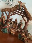 Rare Department Dept 56 Holy Night Nativity Set Original Christmas Collectable