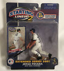 NEW~JORGE POSADA~YANKEES~2001 STARTING LINEUP 2 Action Figure-EXTENDED SERIES