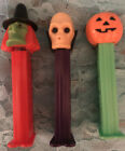 Vintage Rare 1971 Dr. Skull  Pez  from Slovenia A  Vintage Witch And old pumpkin