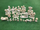 Precious Moments Lot of 28 Figurines 1983 1990 Collection Christmas Anniversary