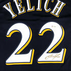 Christian Yelich Signed Authentic Blue Milwaukee Brewers Jersey BAS Auth
