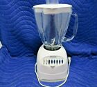 Oster Osterizer 5 Cup Glass Pitcher 12 Speed Blender Model 6630 Sunbeam TESTED