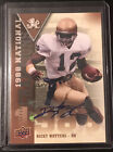 Ricky Watters 2013 Upper Deck Notre Dame National Champions Autograph #2 25 Auto