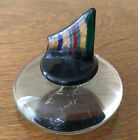 Artists Signed Lyr Murano Dis Magistri Glass Paperweight LOOK