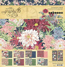 Graphic 45 BLOSSOM 12x12 Paper  Sticker Collection Pack