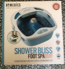 HoMedics Shower Bliss Foot Spa Shower massage water jets Pedicure center with