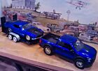 124 Scale Diecast3 piece SetBlue17 Ford Pickup70 Boss Ford Mustang trailer