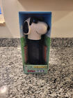 NEW PEANUTS MUSICAL DISPENSER GIANT JOE COOL SNOOPY PEZ CANDY ROLL WITH CANDY