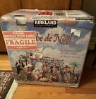 Rare Kirkland Christmas Nativity Set Large Creche de Noel 224739 Costco Holiday