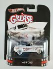 hot wheels retro entertainment 2012 Grease 48 Ford White
