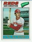 Dave Concepcion 1977 Topps On Card Auto Autograph Signed In Person Read