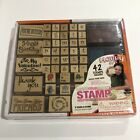 Rubber Stamp Kit Hobby Dos Leave Your Mark Greeting Card Creations Brand New