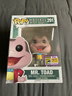 Funko Pop! Disney Mr Toad # 291 Exclusive 2017 SDCC Limited Edition 1500 PCS