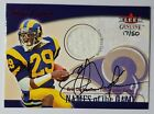 2001 Eric Dickerson Fleer Genuine Names of the Game Autograph & Game-Worn #17 50