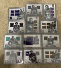 2016 Panini Encased 12 Card rookie Lot. Player worn, Numbered Cards. Invest Pack