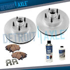 Front Brake Rotors + Ceramic Pads for Camaro Chevelle Monte Carlo Nova EI Camino