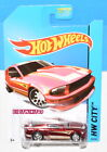 HOT WHEELS 2014 SUPER TREASURE HUNT 07 FORD MUCTANG W+
