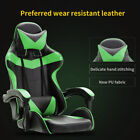 Gaming Chair Footrest Racing Computer Ergonomic High Back Office Desk Swivel Usa
