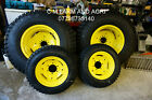 NEW JOHN DEERE 3036E 3038E COMPACT TRACTOR WHEELS  TYRES GALAXY MIGHTY MOW TURF