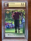 BGS 9.5 2001 Upper Deck #1 Tiger Woods Rookie Card Great Future Investment