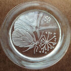 Lalique Crystal Annual Plate 1969 Papillon Butterfly