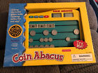 ELECTRONIC COIN ABACUS PCI Educational Homeschool Math Electronic Toy In Box