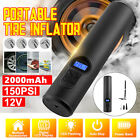 Portable Smart Air Pump Wireless Air Electric Tire Inflator Car Bike Bicycle
