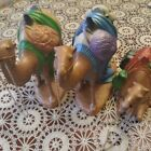 Vintage Stamped Large NATIVITY SET Holland Mold Ceramic 3 CAMELS