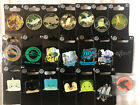 Lot 21 SeaWorld Pins Stained Glass Stackseas Member Penguins Ride Busch Gardens