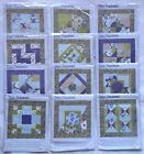 All 12 Block Kits for Jo Ann Sew Squared Quilt Top Cotton Fabrics New