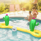 Inflatable Pool Volleyball Game Set Floating Net Water Play Summer Outdoor Funny