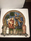 The San Francisco Music Box Co Holy Family Nativity Scene Sculpture Lights Up