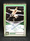 2020 Topps WWE Transcendent Collection Sheamus Framed Green Autograph Card 05 15