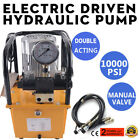 Electric Hydraulic Pump 10000 PSI Double Acting Manual Valve Electric Driven Use