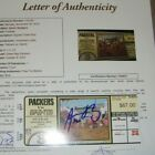 Aaron Rodgers Rookie Cards Checklist and Autographed Memorabilia 70