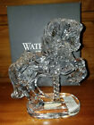 Waterford NIB 200 Crystal Carousel Horse Collectible