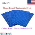 New Resin Blue Swimming Pool Solar Heater Blanket Evaporation Above Ground