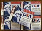 2002 UD Upper Deck USA Baseball National Team Box Set of 30 Cards LOT OF 5 SETS