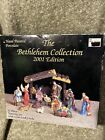 Nativity Scene The Bethelehem Collection 2001 Edition Porcelain 12 Piece Set