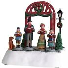 Lemax Christmas Village Pre-Lit Animated  Victorian Carolers -  Battery Operated